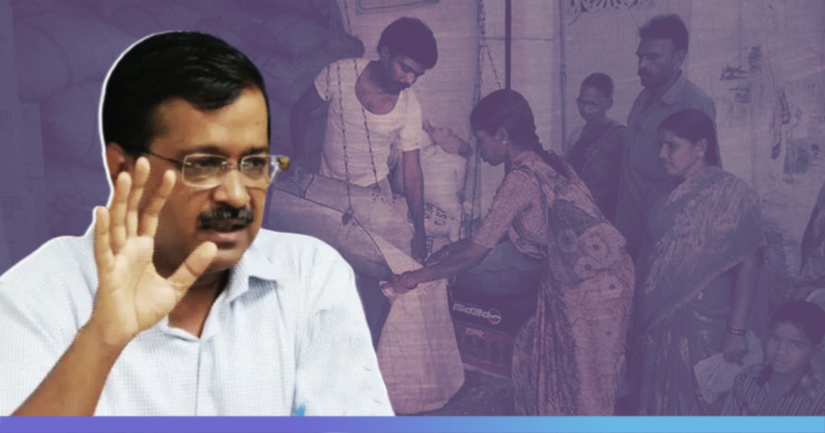 Delhi: Kejriwal Govt Approves 'Mukhya Mantri Ghar Ghar Ration ...