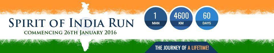 Watch: An Australian MP Is Running From Kanyakumari To Kashmir, All For A Cause