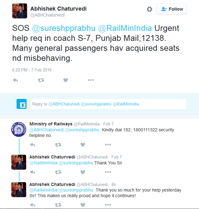 My Story: The Passengers Were Being Harassed, I Tweeted To Suresh Prabhu And Got Immediate Help