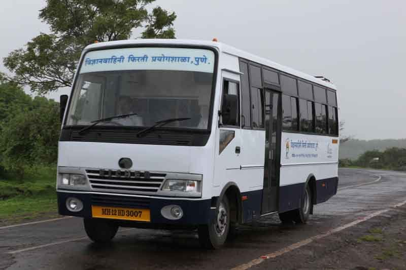 School On Wheels: Elderly People Travelling Miles To Take Science To The Village Kids