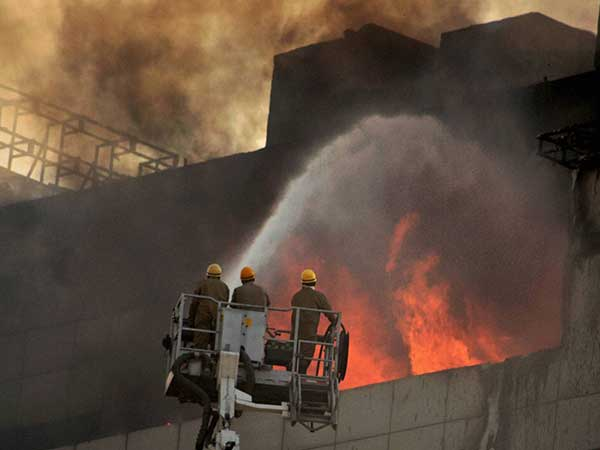 How Brave Fire Fighters Risked Their Lives To Douse The Fire At National Museum