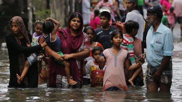 India Sent Two Naval Ships With Relief Materials To The Cyclone-Hit Sri Lanka