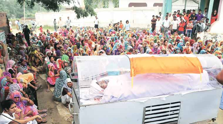A Murder Accused's Dead Body Wrapped In Tricolour, Given The Stature Of A Martyr