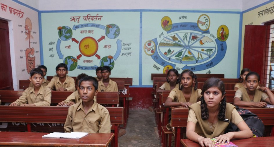 Amethi: Schools Are Using Walls And Ceilings In An Innovative Way To Teach Kids