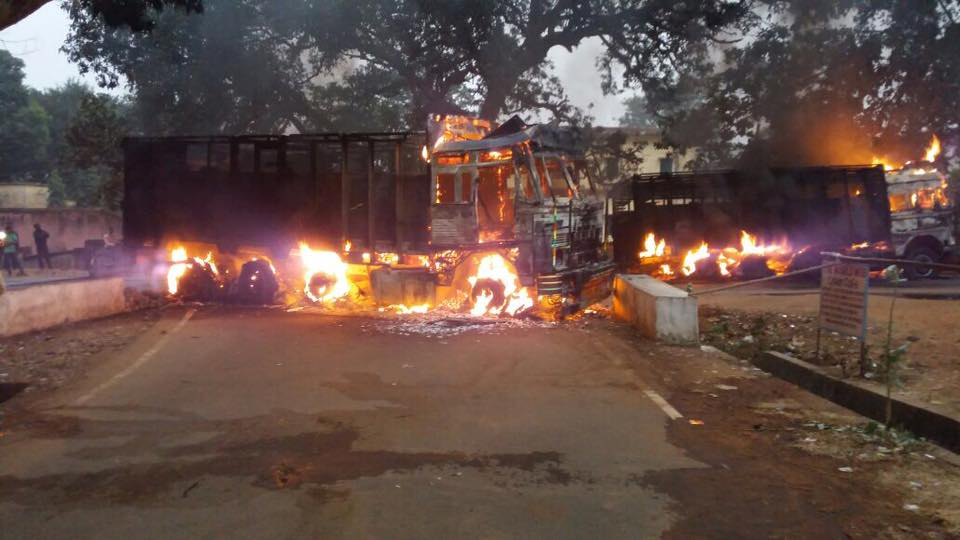 Large Protests Broke Out In Jharkhand Against Changes In Land Tenancy Law, 9000 Held Amidst The Rage
