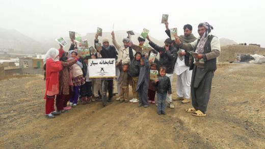 The Man Who Is Delivering Joy Through Books In War Torn Afghanistan On A Cycle