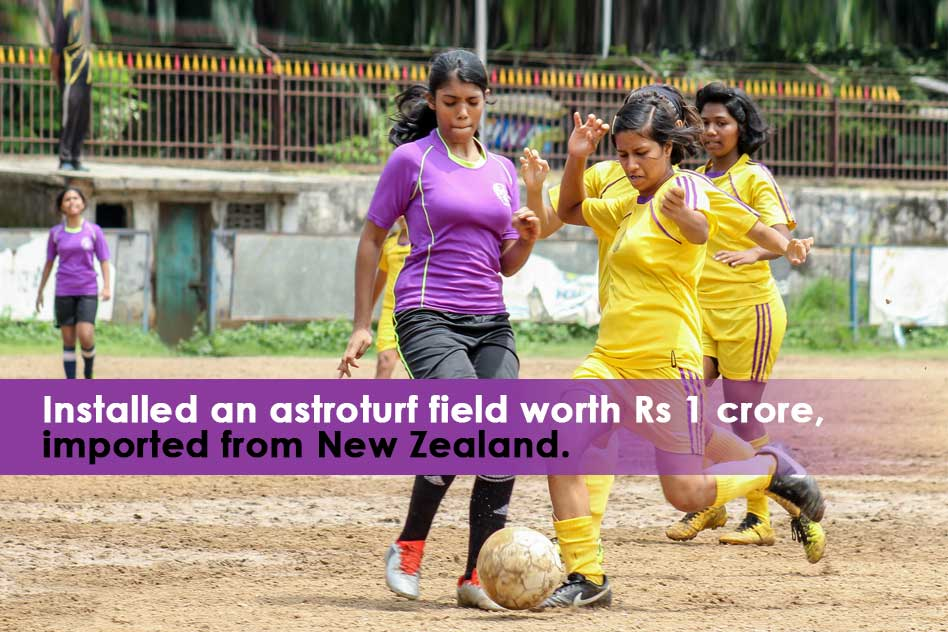 A Kerala School Which Is Investing Crores For Girls Football