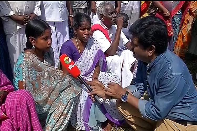News Channel In Tamil Nadu Dedicates Entire Day To Report Severe Drought In The State