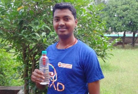 Meet 22-Yr-Old Engineering Student, Who Has Made A Portable Water Purifier And It Cost Just Rs 20