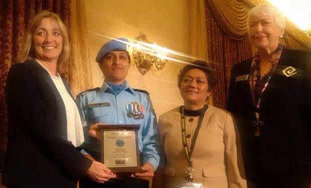 The J&K Cop Who Won UN Peacekeeper Award For Helping Policewomen In Afghanistan