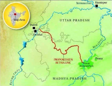 Ken-Betwa River Project Approved;  72 Sq Km Of Tiger Reserve To Be Sub-Merged