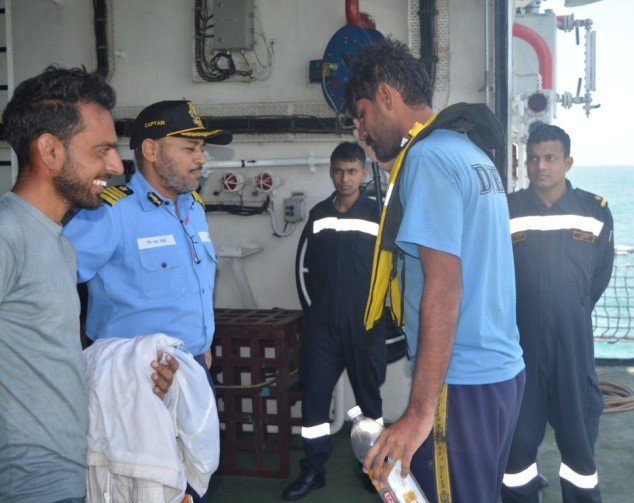 Indian Coast Guard Saves Lives Of Two Drowning Pakistani Commandos