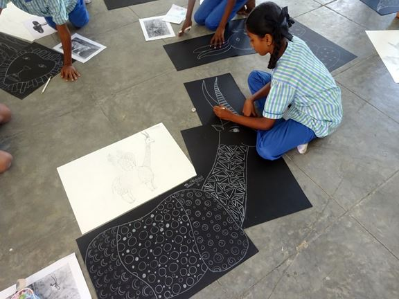 This Organisation Is Solving One Of The Greatest Problems Of Education System In India Through Arts