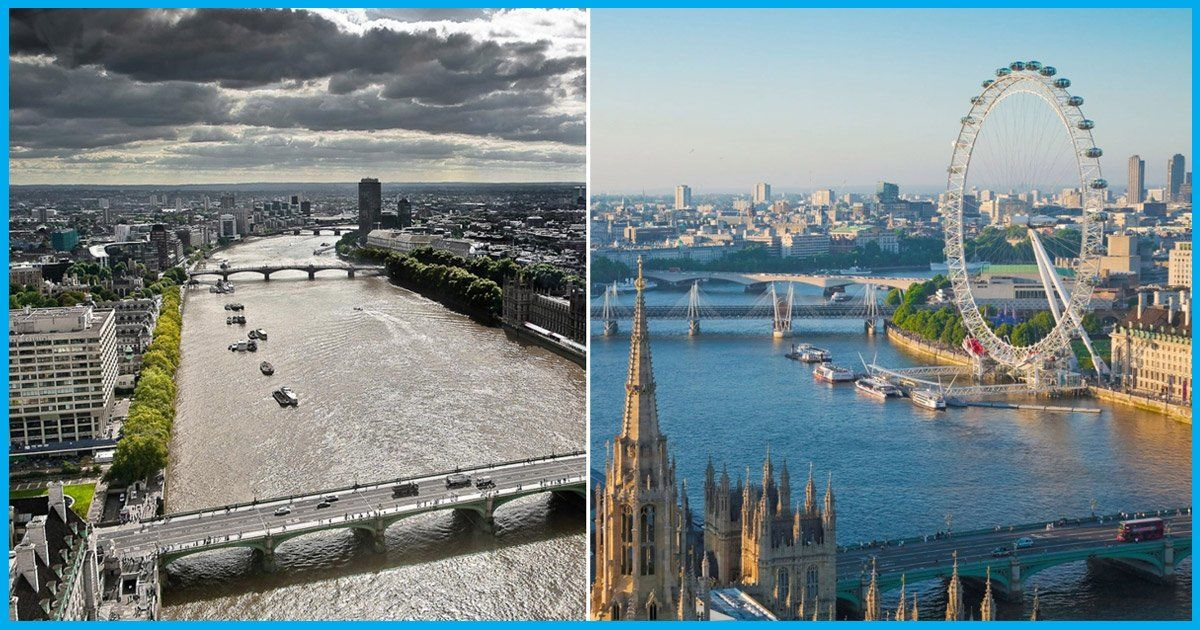 Londons River Thames: From Filthy, Foul-Smelling Drain To One Of The Worlds Cleanest Rivers