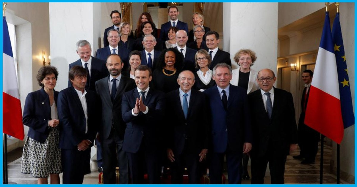 Frances New President Has Appointed A Cabinet Where 50% Of Ministers Are Women