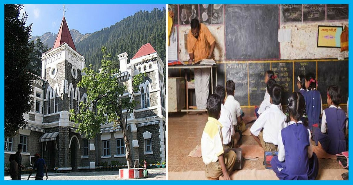 No Cars, ACs Or Luxurious Item For State Government Officials Till Students Get Chair: Uttarakhand HC