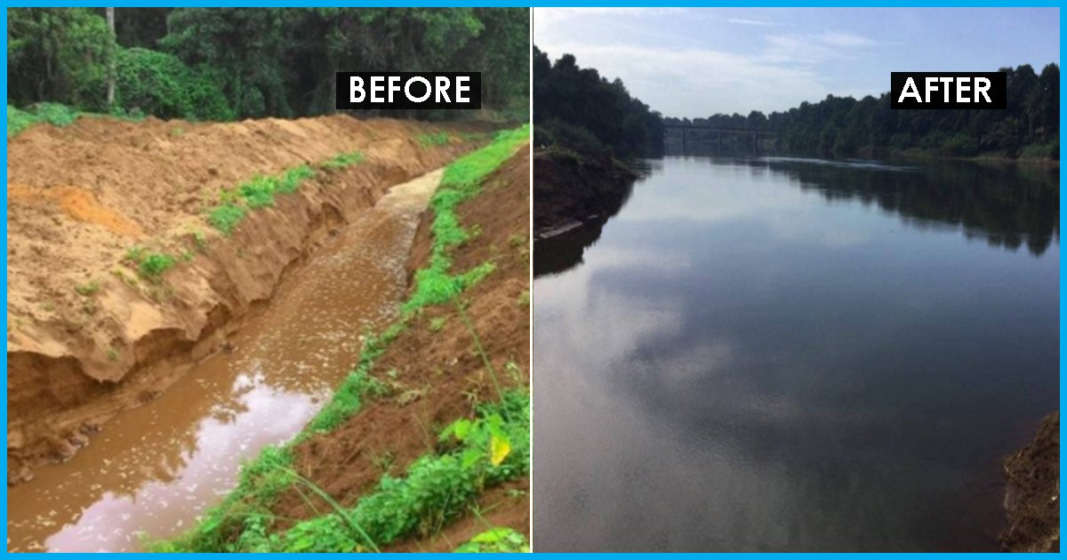 Power Of People: Keralites Brought A Dead River Back To Life Through A Massive Campaign