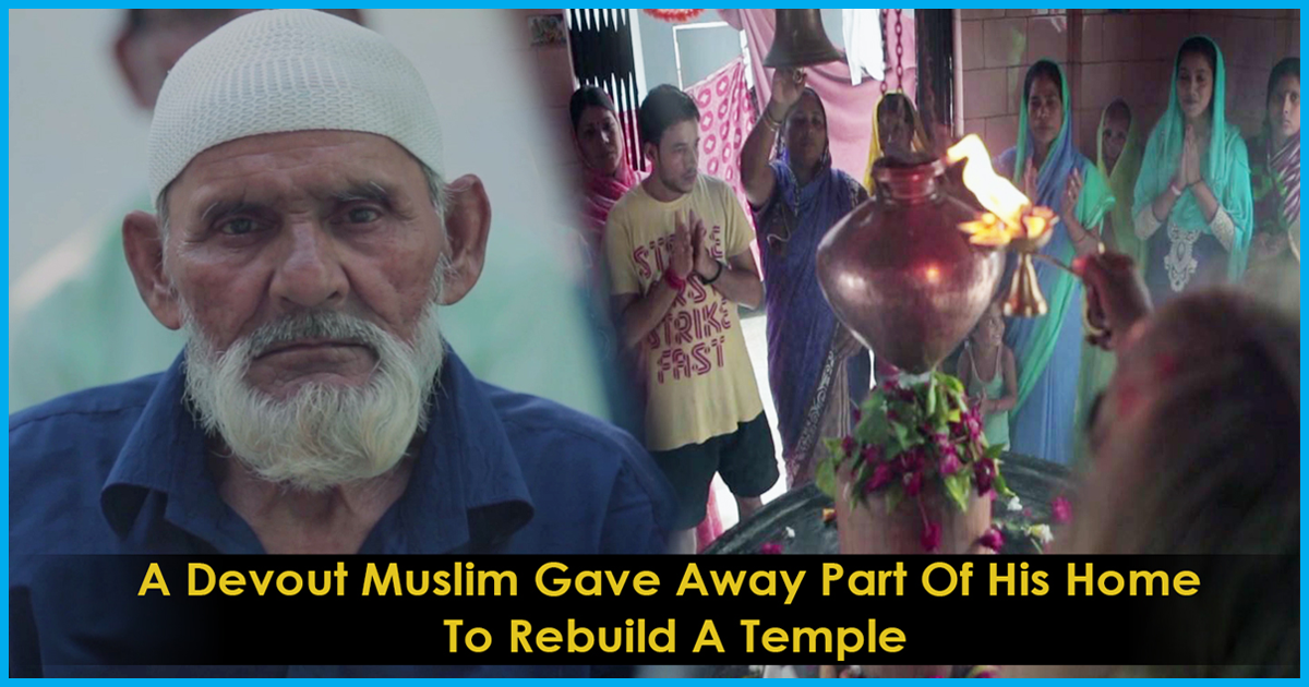 This Man Gave Up A Part Of His House For A Temple And Prays Every Day With People From A Different Faith