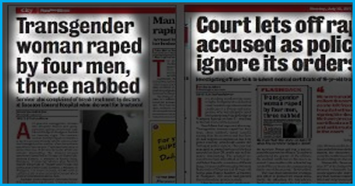 Pune: Loopholes In Section 377 Enable Bail For Four Men Accused Of Raping Transgender Woman