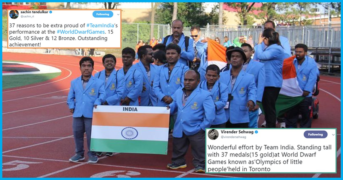 Indian athletes silently set records at World Dwarf Games