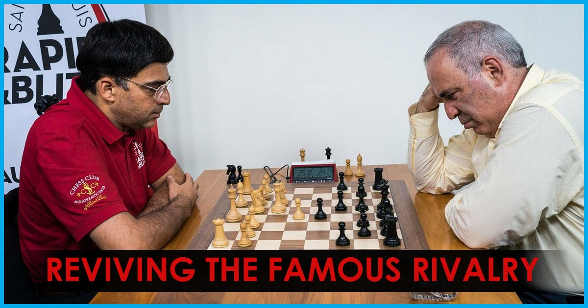 Vishwanathan Anand and Garry Kasparov: Reprising the classic clash of the titans