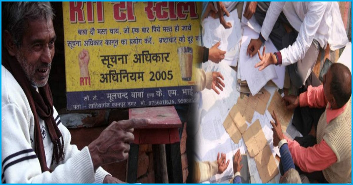 This Tea Stall Owner From UP Holds Sessions At His Shop To Help People File RTI