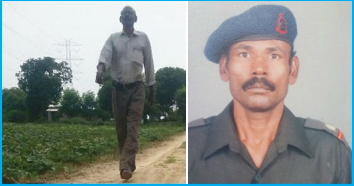 This Retired Army Man Donated 4 Lakh From His Provident Fund To Construct Roads In His Village