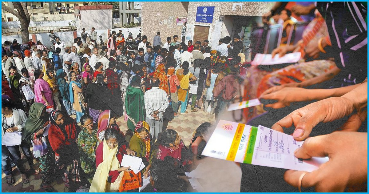The Poor Are Least Benefited By Aadhaar: Study By RBI Arm