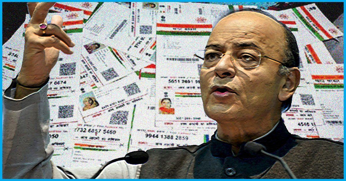 Aadhaar-Linked Accounts Of 5 Customers Breached, Over Rs 5 Lakh Swindled Off: Arun Jaitley In Lok Sabha