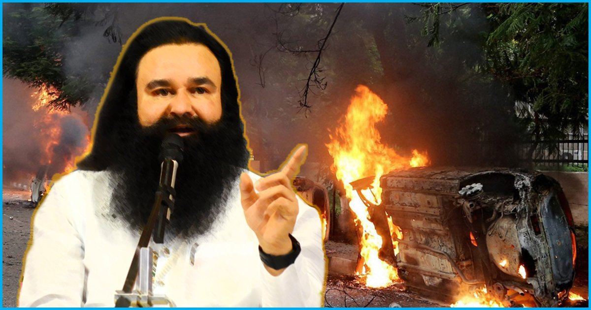 Haryana Suffered A Loss Of Over Rs.126 Crore In The Violence That Erupted During Ram Rahims Conviction