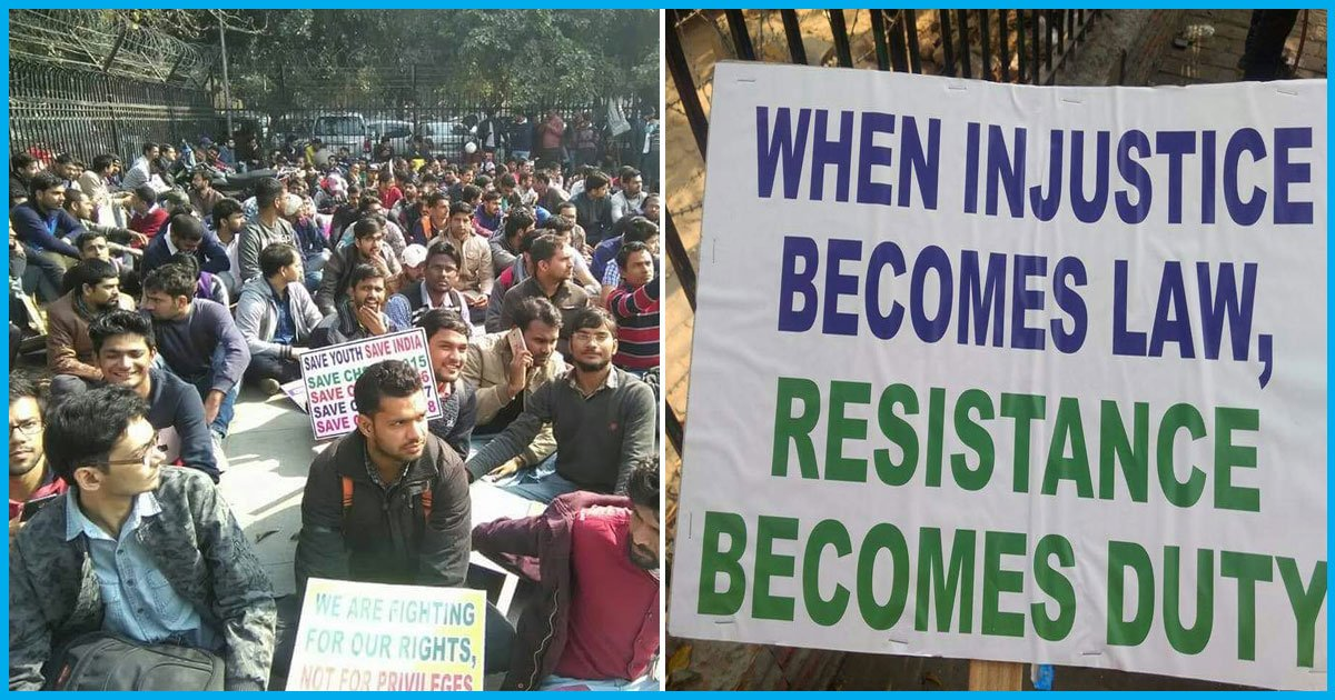 Students Protest In Delhi As Over 10,000 Aspirants Wait For Jobs Even After Qualifying SSC Exam