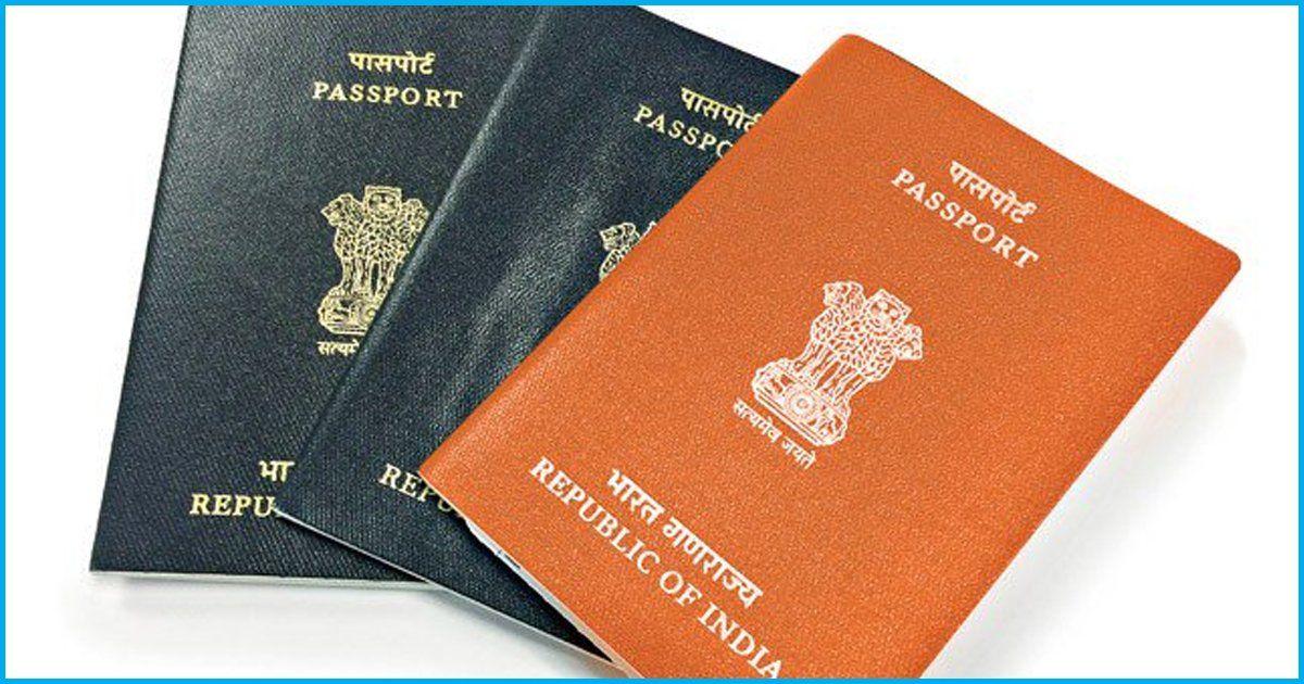 Following Criticism, Govt Withdraws Introduction Of Orange Passport