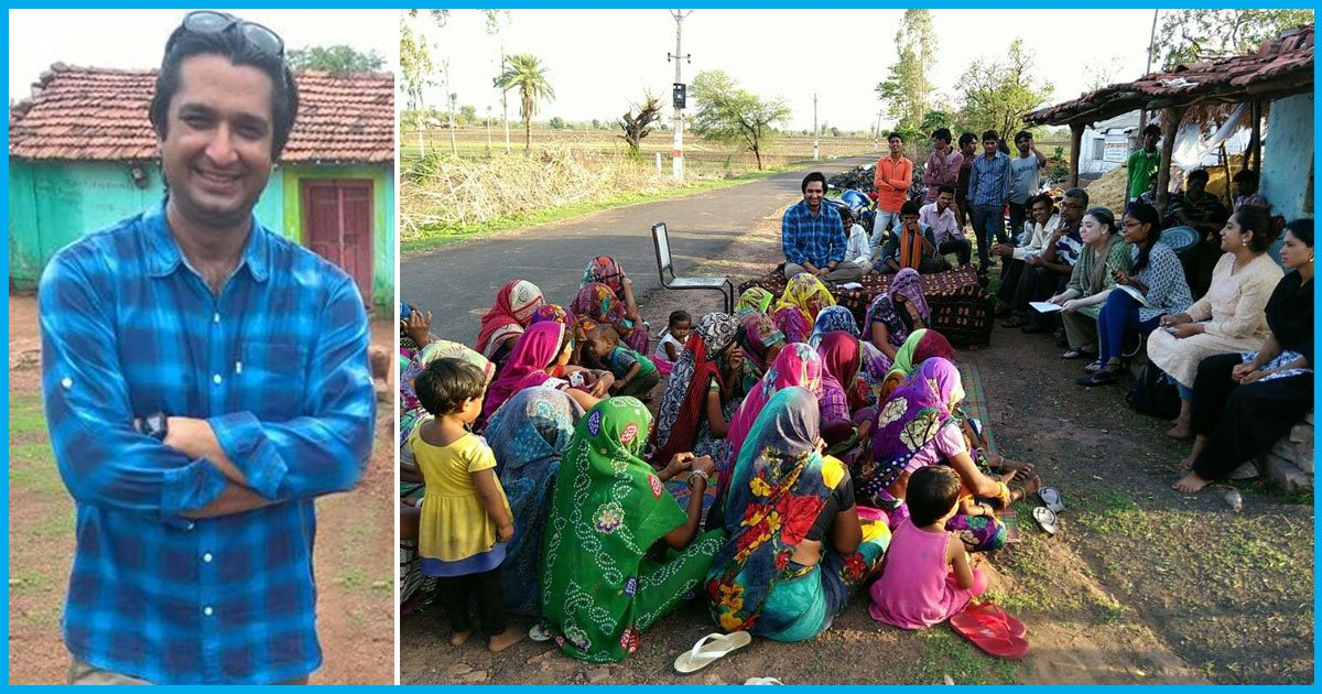 Meet Amitabh Soni, The Man Who Left His UK-Based Job To Empower Indian Villages