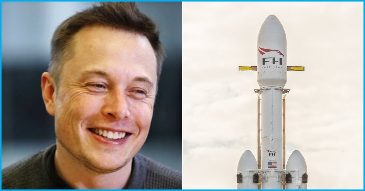 Elon Musk Successfully Launched Tesla Car Into Space Via Worlds Biggest Rocket