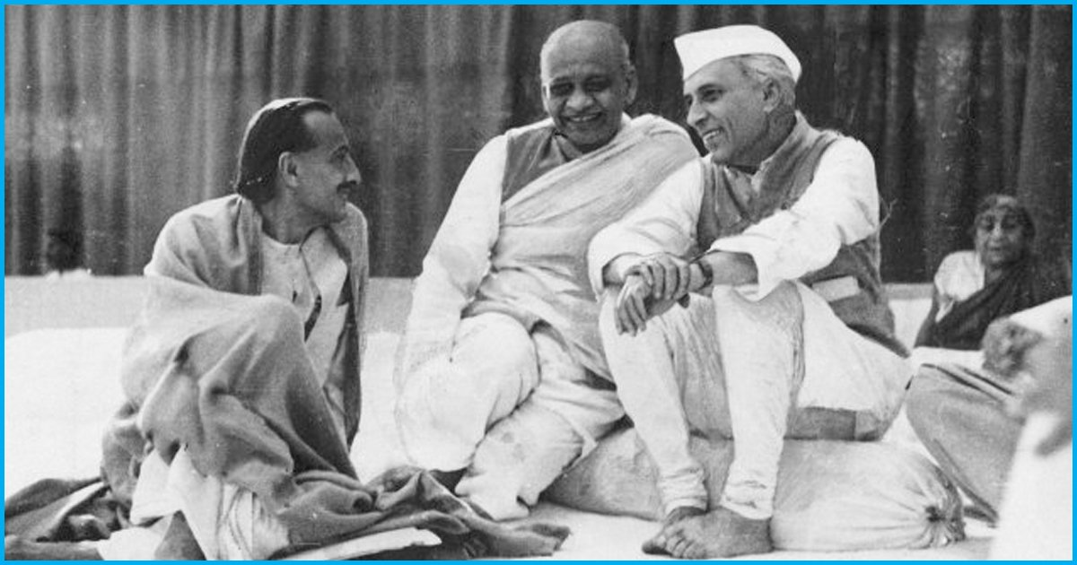 Only I Know How Much Nehru Toiled For India, Sardar Patel