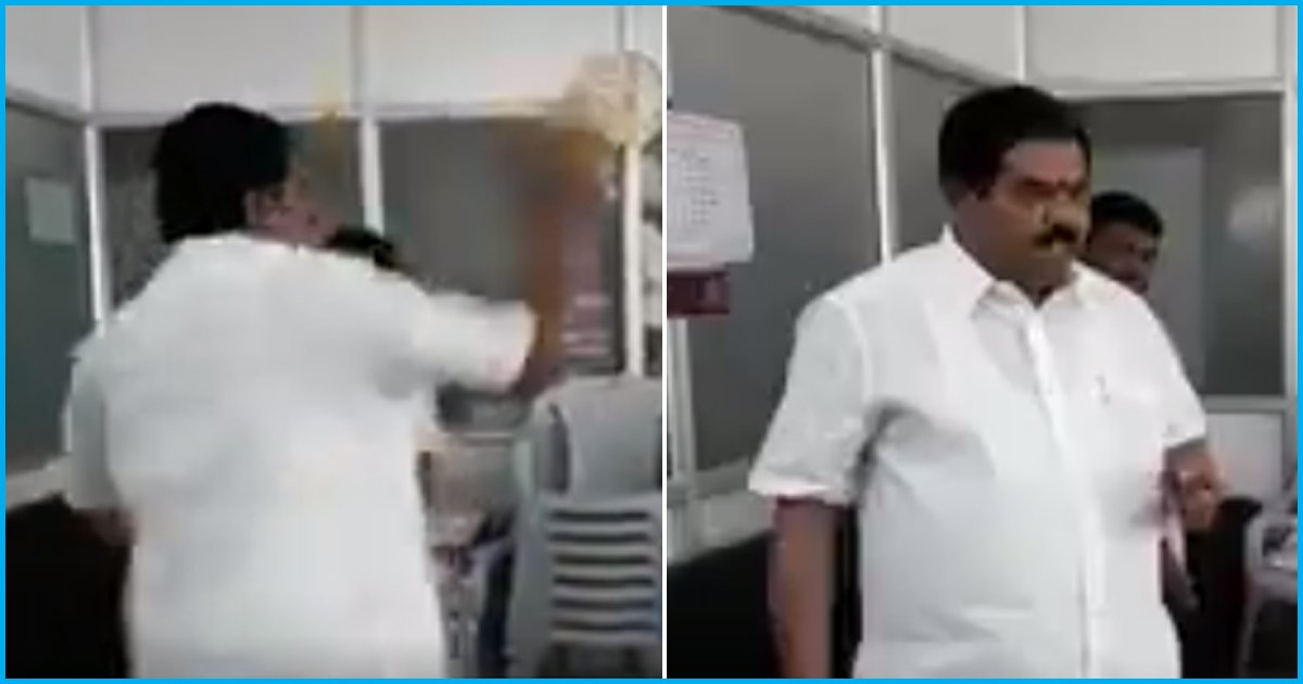Bengaluru: Congress Leader Throws Petrol Inside BBMP Office, Threatens To Set It On Fire