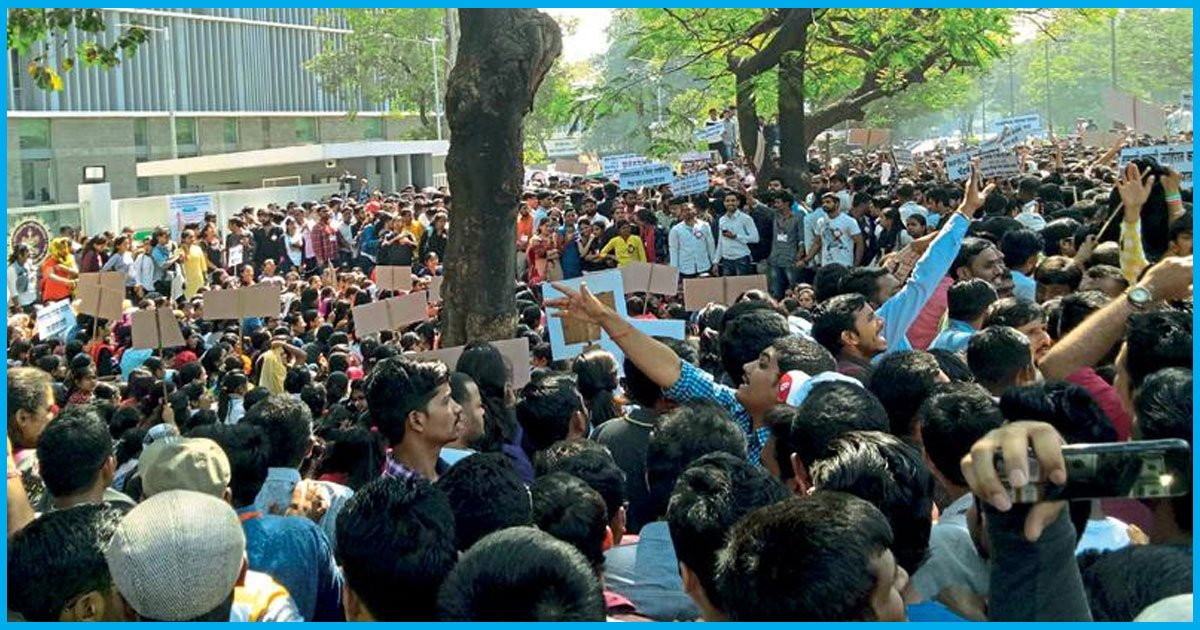 Maharashtra: MPSC Aspirants Protest To Get Public Service Vacancies Filled