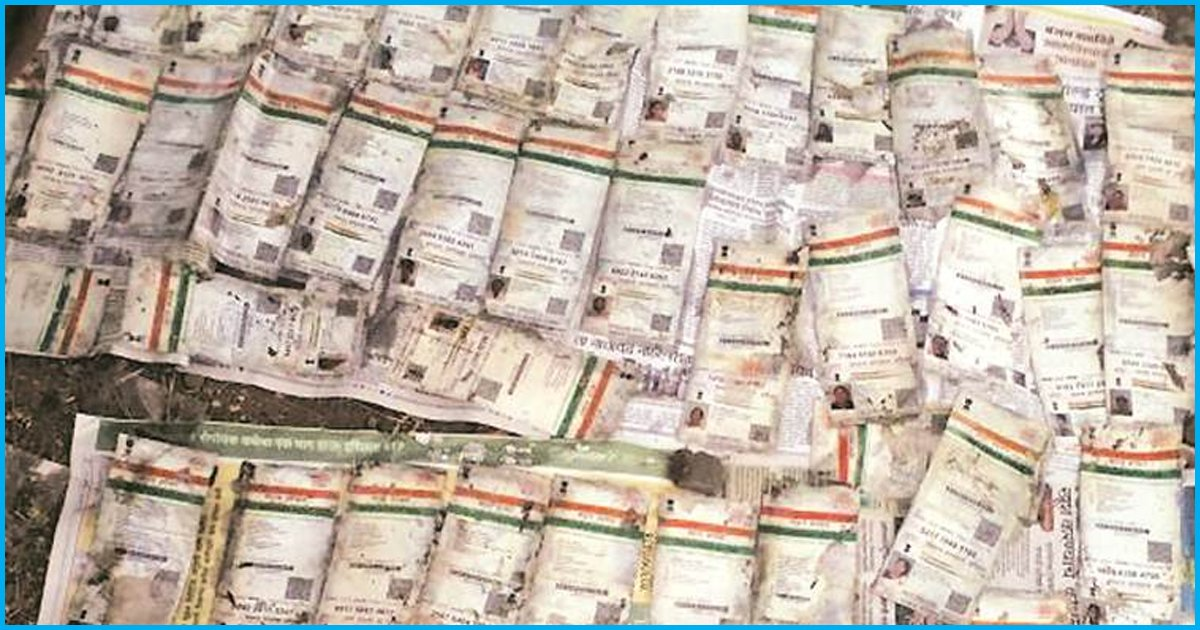 Maharashtra: Thousands Of Aadhaar Cards Found Dumped In A Well