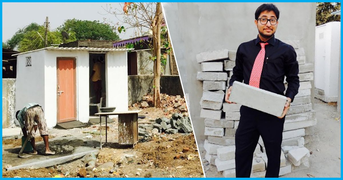 Meet The 23-Yr-Old Who Built 1,000 Toilets Using Industrial Wastes & Empowered Unskilled Women In Gujarat