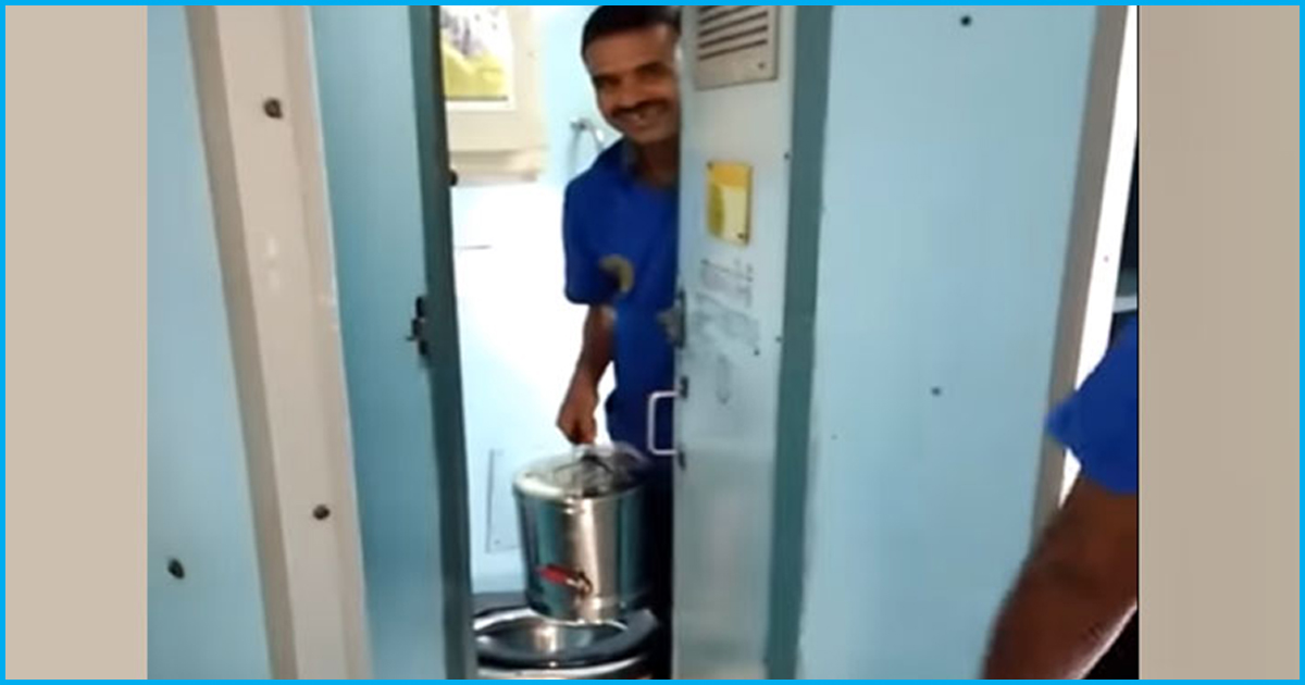 Contractor Fined Rs 1 Lakh For Using Water From Toilet To Allegedly Make Tea, Coffee On Train