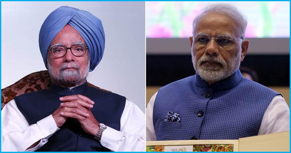 "Former PM Manmohan Singh Accuses Modi Govt Of ""Dismantling Indian Economy"""