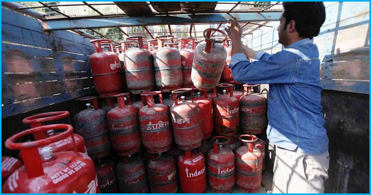 After Fuel Hike, Non-Subsidised LPG Was Hiked By ₹48; Subsidised By ₹2.34