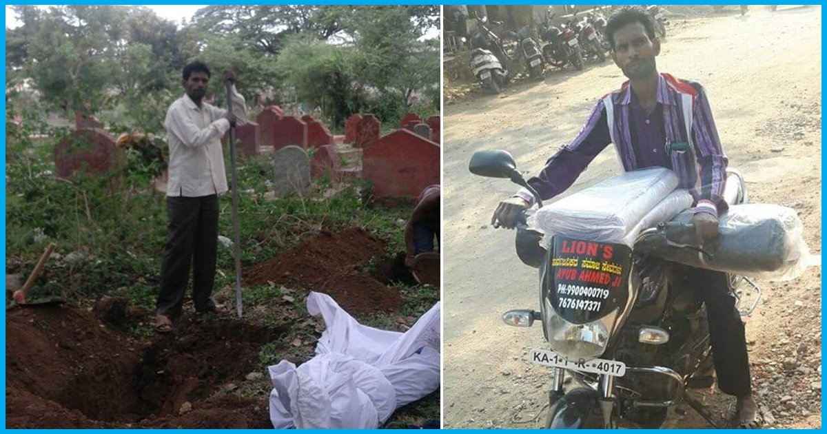 This Mysore Man Has Been Carrying Unclaimed Dead Bodies To Mortuary And Performing Last Rites Since 19 Years