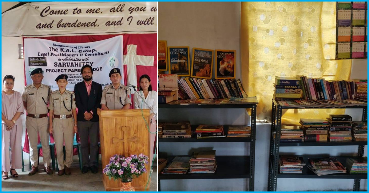 This Organisation Is Building Libraries All Over The Country, Now In Nagaland & You Can Help