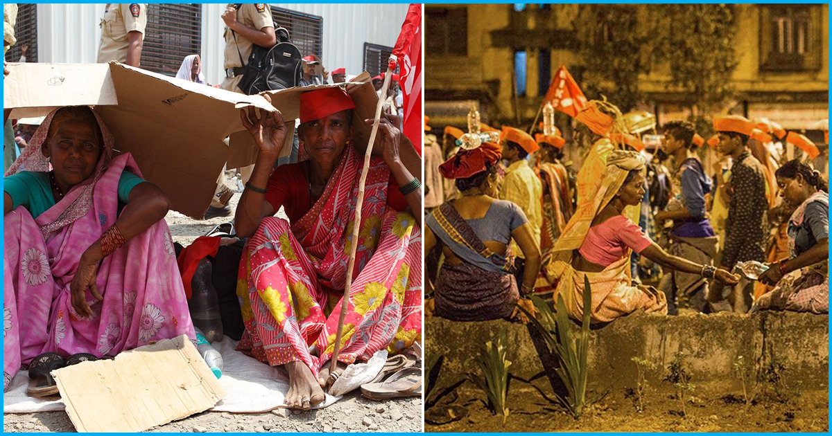 A Long March Of The Dispossessed To Delhi