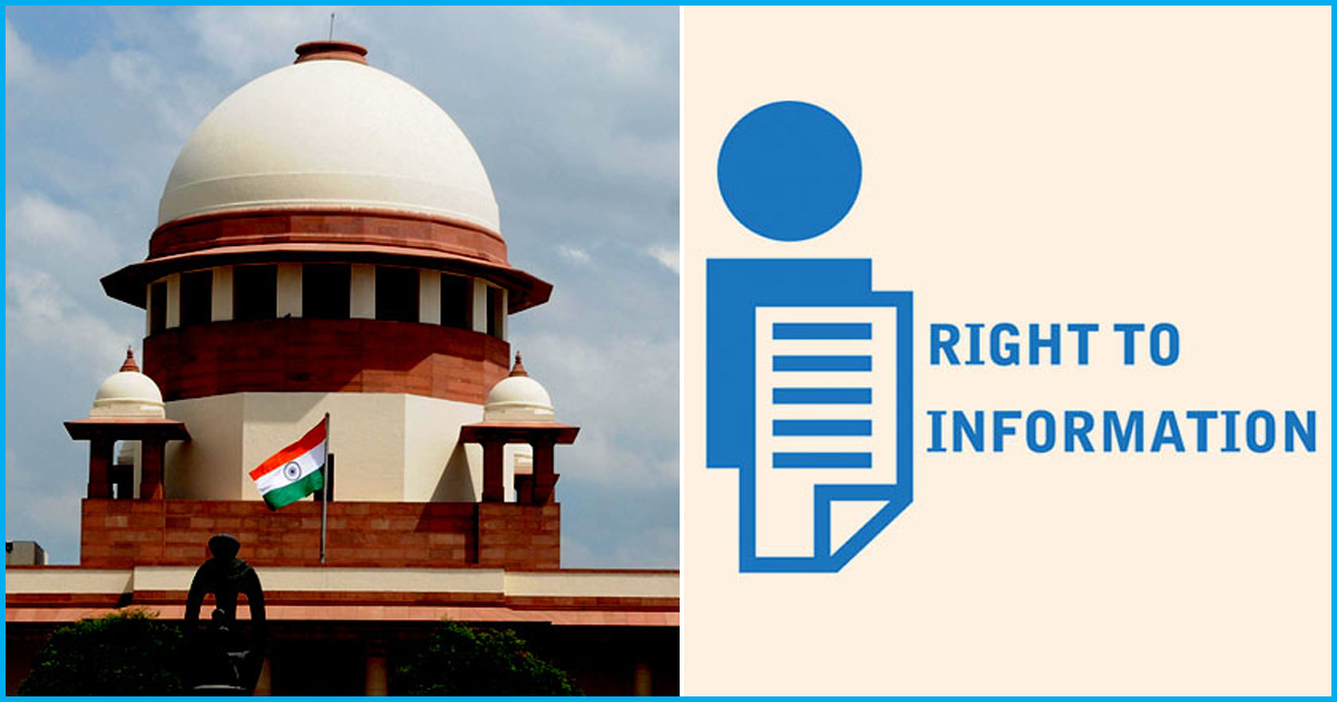 Supreme Court Judgments On Right To Information Act 2005: An Analysis By Former CIC Chairman