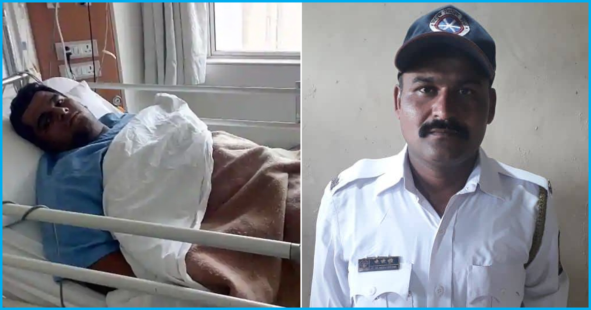 Thane Traffic Cop Drives 23-Yr-Old To Hospital After He Suffers Severe Chest Pain While Driving