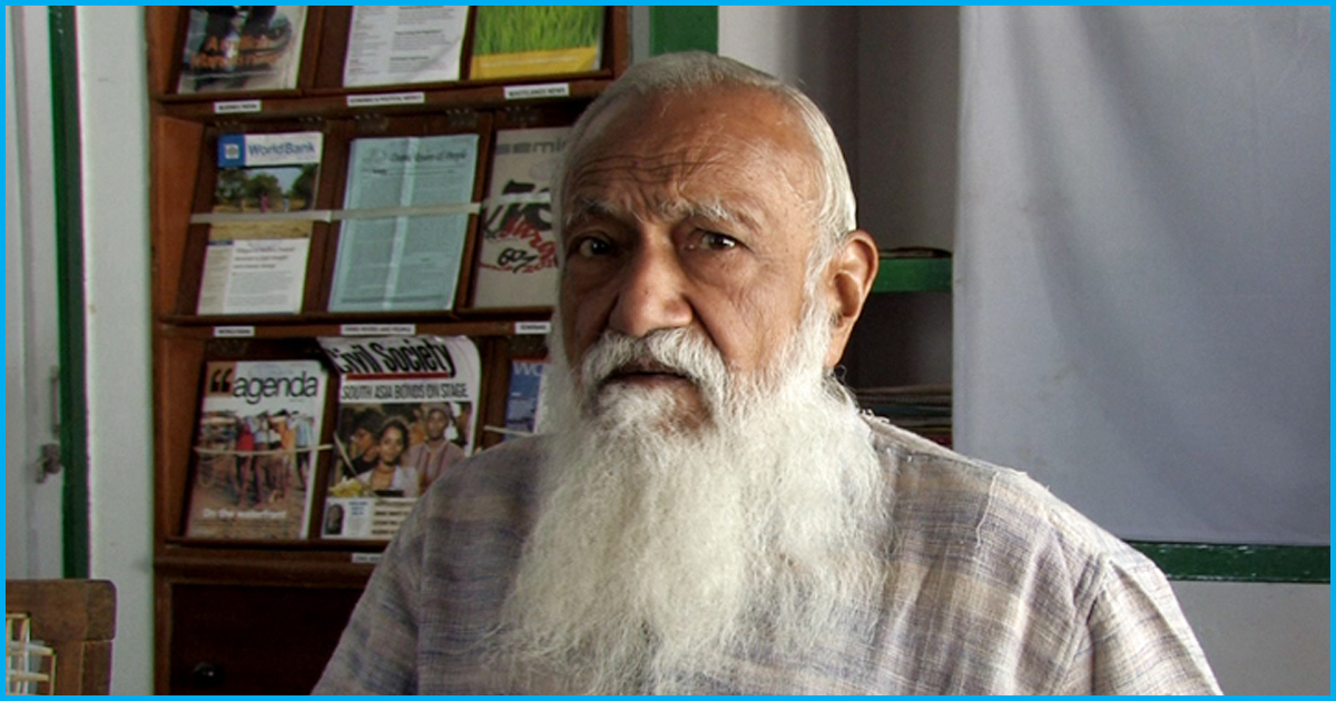 Unable To Save Ganga, 87-Yr-Old Professor GD Agrawal Dies On 111th Day Of His Hunger Strike