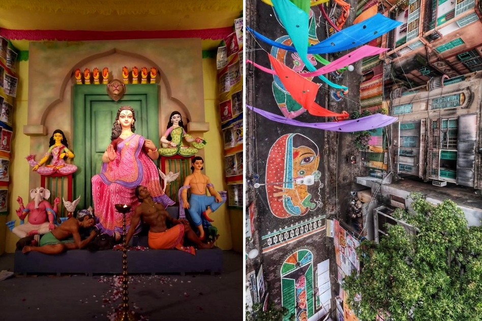 Sex-Workers Are Also Part Of Ma Durga - This Kolkata Puja Pandal Resembles A Kotha