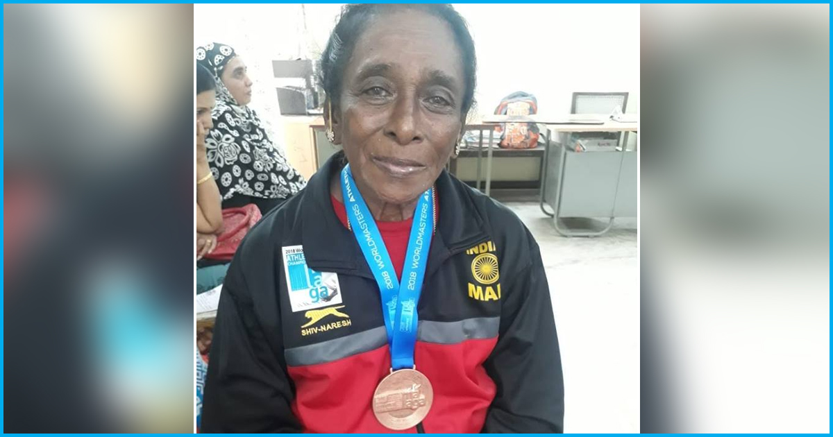 Meet The 87-Yr-Old Mother Of Six Who Has Won Over 400 Medals For Shot Put & Discus